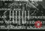 Image of Gar Woods Algonac Michigan USA, 1933, second 1 stock footage video 65675022454