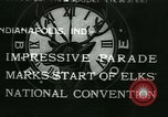 Image of Elks National Convention Indianapolis Indiana USA, 1933, second 1 stock footage video 65675022458