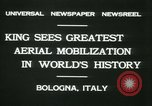 Image of Prince Humbert and Italo Balbo Bologna Italy, 1931, second 10 stock footage video 65675022460