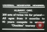 Image of Identical twins tournament Albany New York USA, 1931, second 2 stock footage video 65675022463