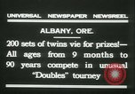 Image of Identical twins tournament Albany New York USA, 1931, second 3 stock footage video 65675022463