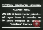 Image of Identical twins tournament Albany New York USA, 1931, second 4 stock footage video 65675022463