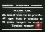 Image of Identical twins tournament Albany New York USA, 1931, second 5 stock footage video 65675022463