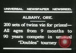Image of Identical twins tournament Albany New York USA, 1931, second 7 stock footage video 65675022463