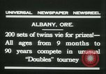 Image of Identical twins tournament Albany New York USA, 1931, second 8 stock footage video 65675022463