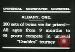 Image of Identical twins tournament Albany New York USA, 1931, second 11 stock footage video 65675022463