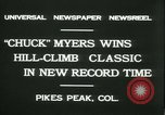 Image of Chuck Myers auto race Pikes Peak Colorado USA, 1931, second 5 stock footage video 65675022467