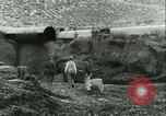 Image of Los Angeles Aqueduct Pipeline Jawbone Canyon, 1931, second 12 stock footage video 65675022470