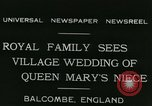 Image of Lady Mary Cambridge wedding Balcombe England United Kingdom, 1931, second 4 stock footage video 65675022471