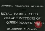 Image of Lady Mary Cambridge wedding Balcombe England United Kingdom, 1931, second 6 stock footage video 65675022471