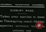 Image of rafter of turkey Sudbury Massachusetts USA, 1931, second 5 stock footage video 65675022473
