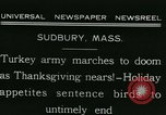 Image of rafter of turkey Sudbury Massachusetts USA, 1931, second 6 stock footage video 65675022473