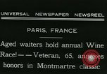 Image of Annual Wine Race Paris France, 1931, second 3 stock footage video 65675022474
