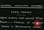 Image of Annual Wine Race Paris France, 1931, second 4 stock footage video 65675022474
