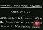 Image of Annual Wine Race Paris France, 1931, second 5 stock footage video 65675022474