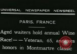 Image of Annual Wine Race Paris France, 1931, second 7 stock footage video 65675022474
