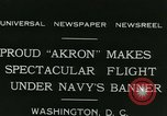 Image of Navy dirigible Akron Washington DC USA, 1931, second 4 stock footage video 65675022476