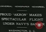 Image of Navy dirigible Akron Washington DC USA, 1931, second 7 stock footage video 65675022476
