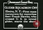 Image of Motor-less gliders Elmira New York USA, 1931, second 4 stock footage video 65675022477