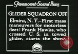 Image of Motor-less gliders Elmira New York USA, 1931, second 5 stock footage video 65675022477
