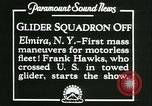Image of Motor-less gliders Elmira New York USA, 1931, second 8 stock footage video 65675022477