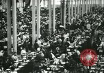 Image of Herbert Hoover US Food Administrator visits Citroen factory Paris France, 1918, second 8 stock footage video 65675022479