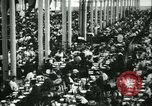 Image of Herbert Hoover US Food Administrator visits Citroen factory Paris France, 1918, second 10 stock footage video 65675022479