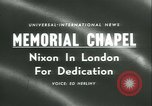 Image of Vice President and Mrs Nixon London England United Kingdom, 1958, second 2 stock footage video 65675022485