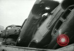 Image of burning abandoned and wrecked cars New York City USA, 1958, second 8 stock footage video 65675022487