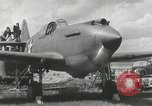Image of American aircraft P-40 Wright Field Dayton Ohio USA, 1941, second 5 stock footage video 65675022496