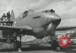 Image of American aircraft P-40 Wright Field Dayton Ohio USA, 1941, second 7 stock footage video 65675022496