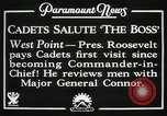 Image of President and Mrs. Franklin D. Roosevelt visiting U.S. Military Academ West Point New York USA, 1934, second 5 stock footage video 65675022615