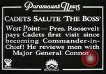 Image of President and Mrs. Franklin D. Roosevelt visiting U.S. Military Academ West Point New York USA, 1934, second 10 stock footage video 65675022615