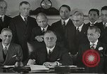 Image of President Franklin Delano Roosevelt Washington DC USA, 1935, second 2 stock footage video 65675022618