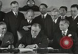 Image of President Franklin Delano Roosevelt Washington DC USA, 1935, second 12 stock footage video 65675022618