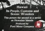 Image of Parade in Hawaii Hawaii USA, 1916, second 1 stock footage video 65675022619
