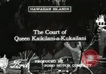 Image of Cultural show Hawaii USA, 1916, second 1 stock footage video 65675022620