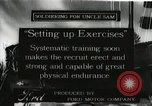 Image of United States Army soldiers exercise during training United States USA, 1916, second 1 stock footage video 65675022628