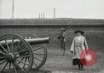 Image of US Army soldier shows cannon to woman United States USA, 1916, second 8 stock footage video 65675022633