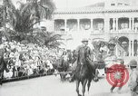 Image of Historical parade Hawaii USA, 1916, second 2 stock footage video 65675022635