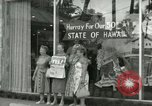 Image of Statehood celebrations Honolulu Hawaii USA, 1959, second 12 stock footage video 65675022666
