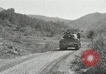 Image of Infantrymen riding on M46 tanks Korea, 1951, second 8 stock footage video 65675022679