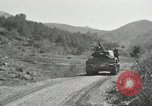 Image of Infantrymen riding on M46 tanks Korea, 1951, second 9 stock footage video 65675022679