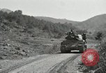 Image of Infantrymen riding on M46 tanks Korea, 1951, second 10 stock footage video 65675022679