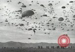 Image of Massive air drop by 187th Airborne Regimental Combat Team Korea, 1951, second 10 stock footage video 65675022693