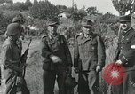 Image of Two German prisoners detained Aix-en-Provence France, 1944, second 2 stock footage video 65675022700