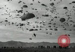 Image of Massive troop drop of 187th Regimental Combat Team Korea, 1951, second 10 stock footage video 65675022701