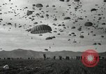 Image of Massive troop drop of 187th Regimental Combat Team Korea, 1951, second 11 stock footage video 65675022701