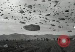 Image of Massive troop drop of 187th Regimental Combat Team Korea, 1951, second 12 stock footage video 65675022701