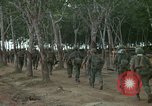 Image of 2nd Battalion of 173rd Airborne Brigade Combat Team Vietnam Bien Hoa Air Base, 1965, second 3 stock footage video 65675022708